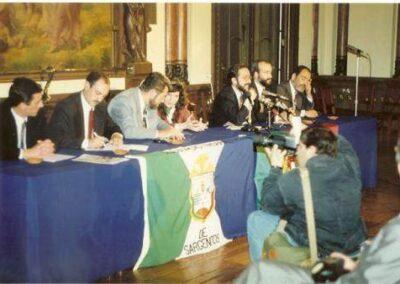 1992 CASA ALENTEJO Conferencia de Imprensa