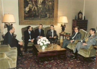 1996 AUDIENCIA PRESIDENTE REPUBLICA
