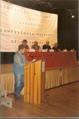 1999 ENTRONCAMENTO I Conferencia Nacional de Delegados