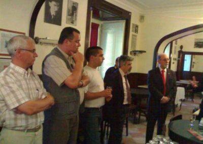 Aniversário da ANS e solidariedade com COR Fraga