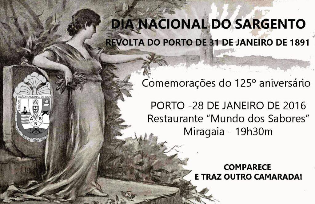 31 de Janeiro 2016Porto