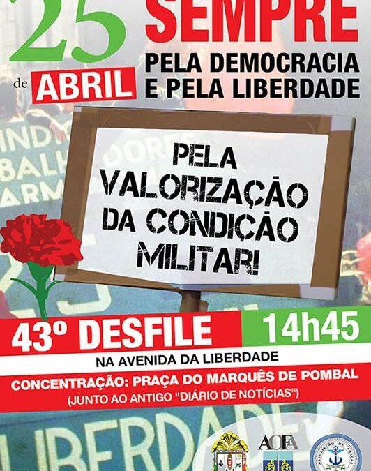 43º Desfile 25 de Abril