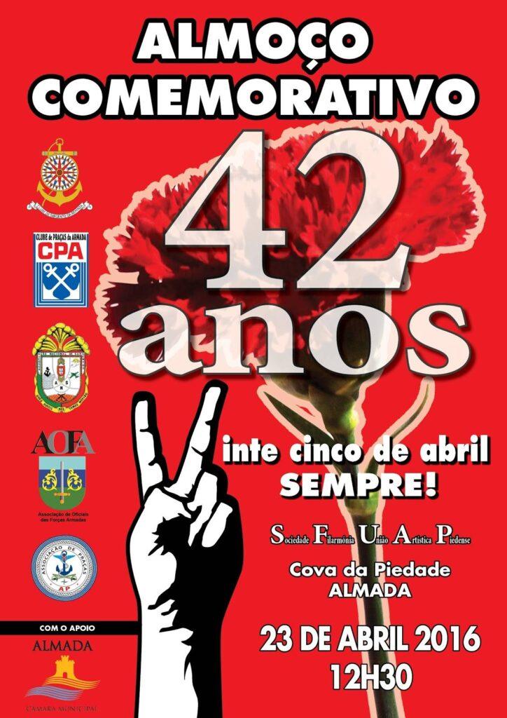 Almoco42Aniversario25Abril