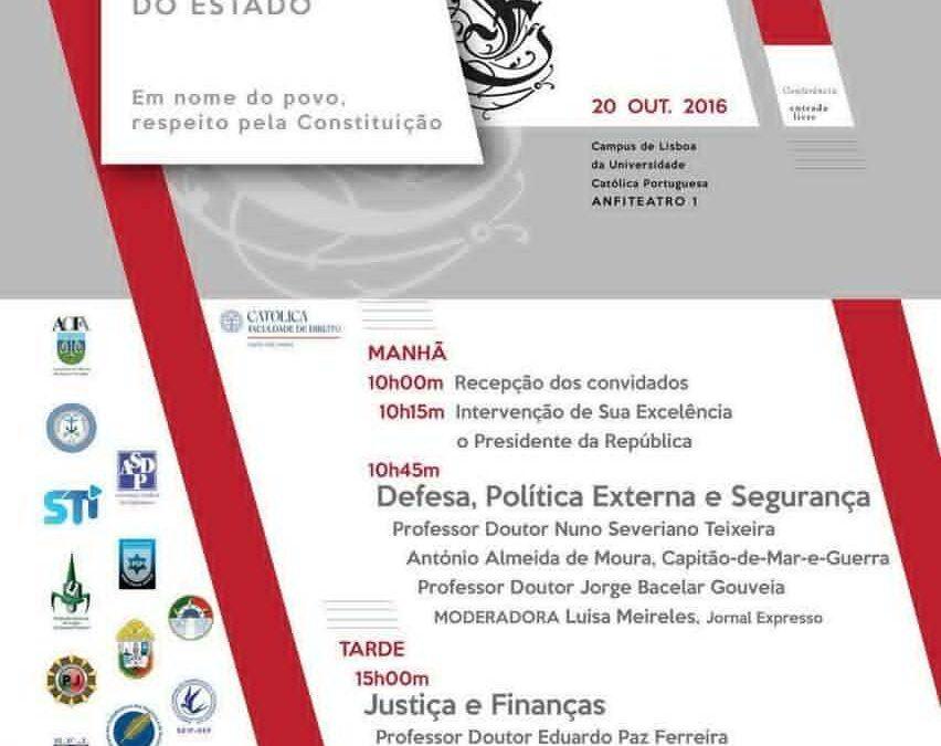 CONFERÊNCIA SOBRE AS FUNÇÕES SOBERANAS DO ESTADO
