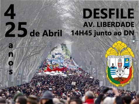 Comemorações do 42º Aniversário do 25 de Abril