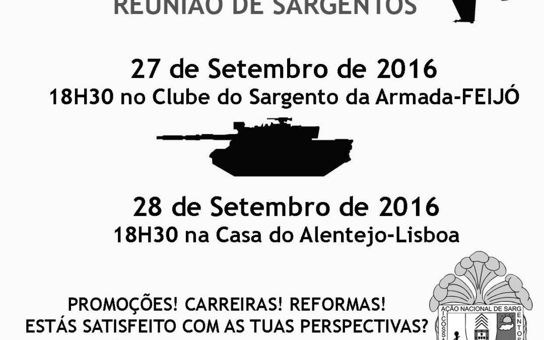 REUNIÕES DE SARGENTOS