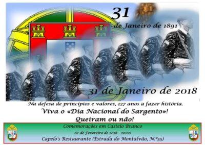 Castelo Branco -Capelo's Restaurante -2Fevereiro2018 - 20:00
