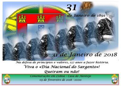 Lisboa – Casa do Alentejo – 3 Fevereiro 2018 – 10:00