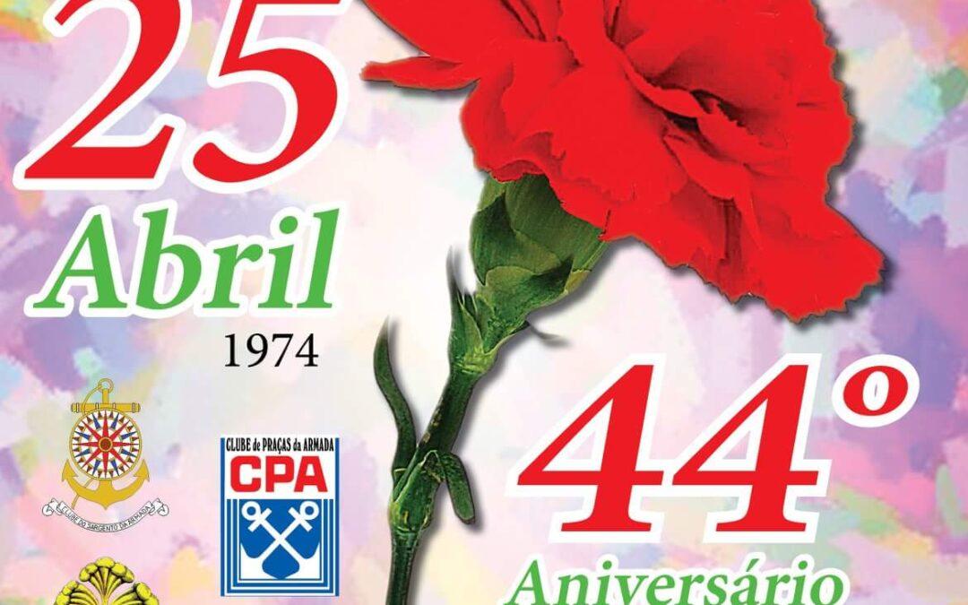 Almoço comemorativo do 25 de Abril 1974
