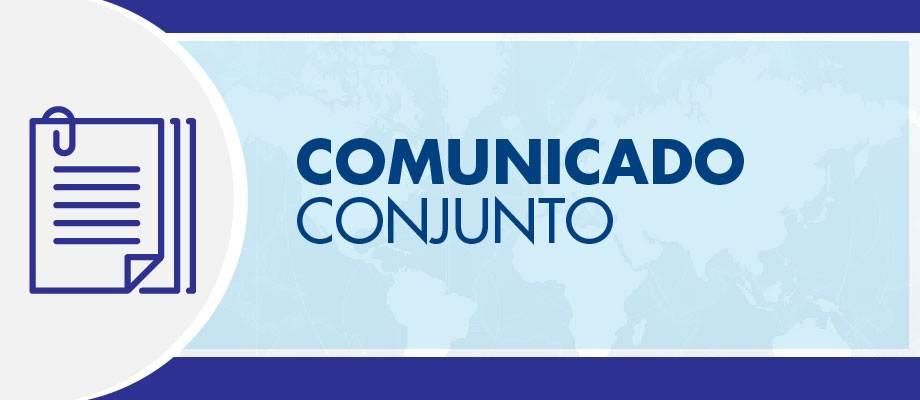Comunicado Conjunto 03 Maio 2019