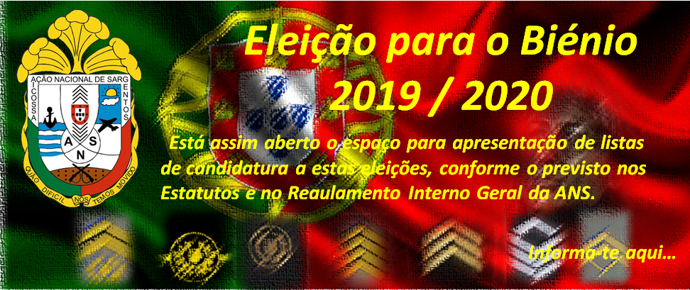 Eleição para o Biénio 2019/2020