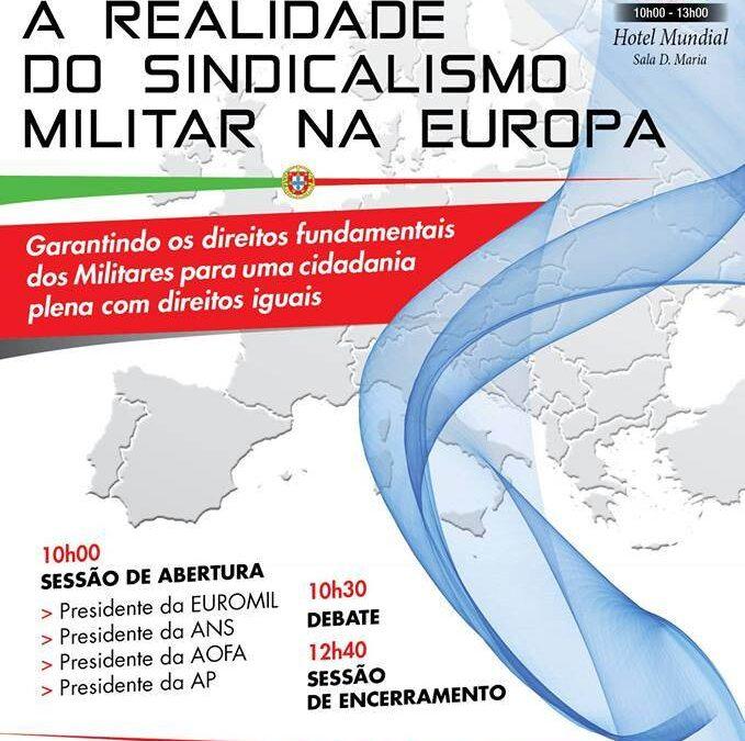 Sessão/Debate – A Realidade do Sindicalismo Militar na Europa